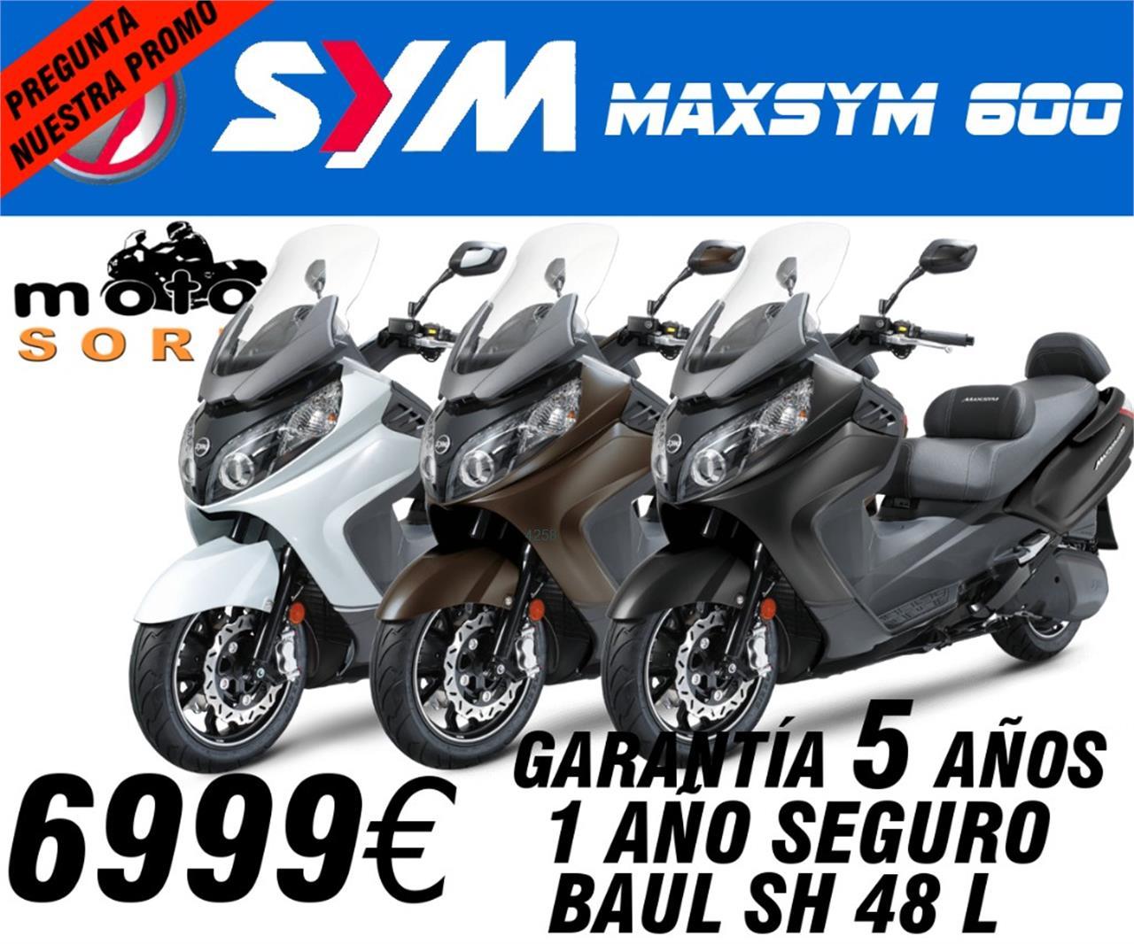 SYM MAXSYM 600i ABS de moto segunda mano en Madrid - 0 Km