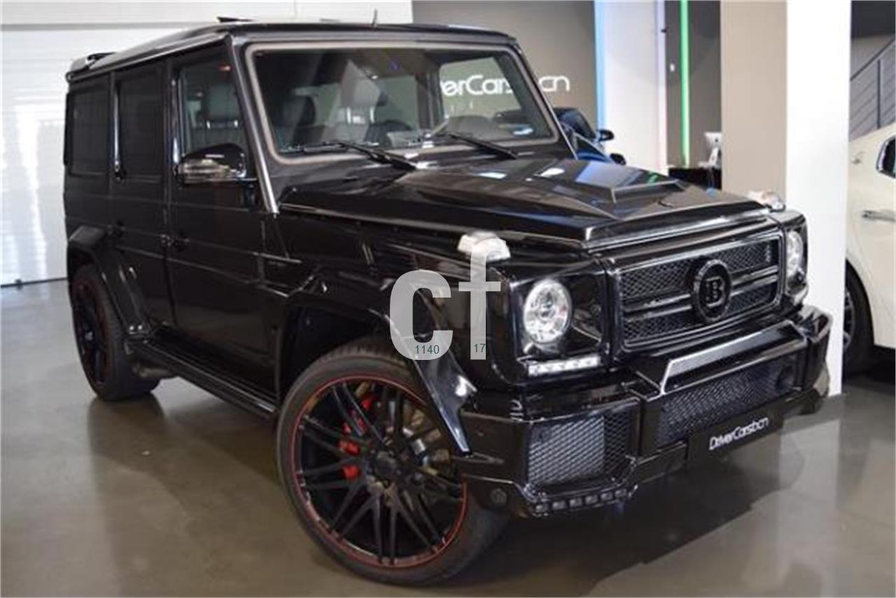 Used mercedes benz g class cars spain for Mercedes benz espana