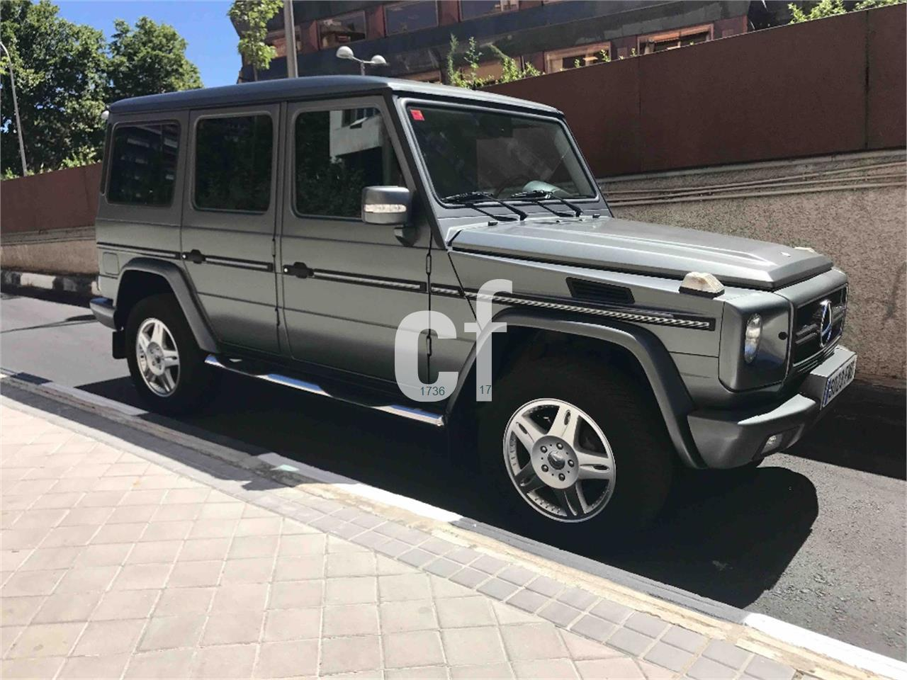 Used mercedes benz g class cars spain for 2002 mercedes benz g class