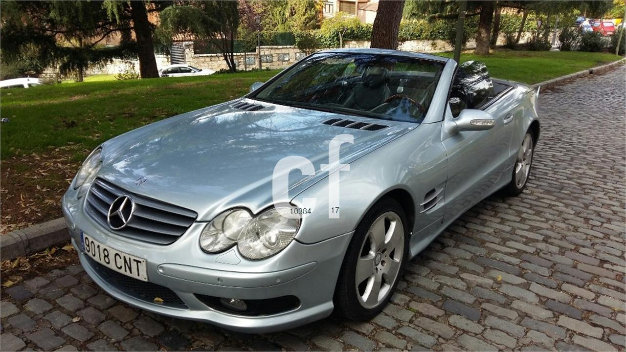 Used mercedes benz sl class cars spain for Mercedes benz espana