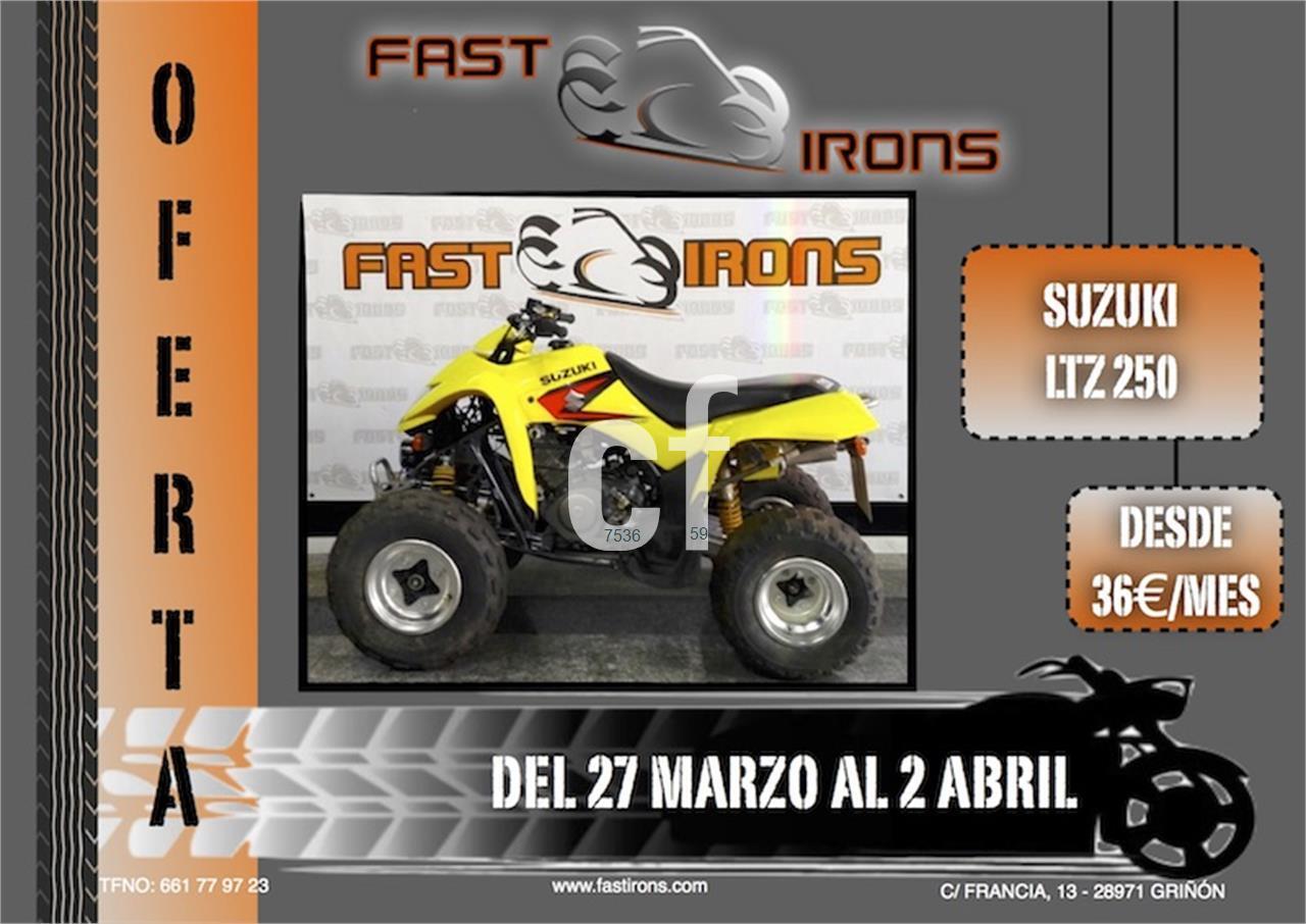 SUZUKI LTZ 250 de venta