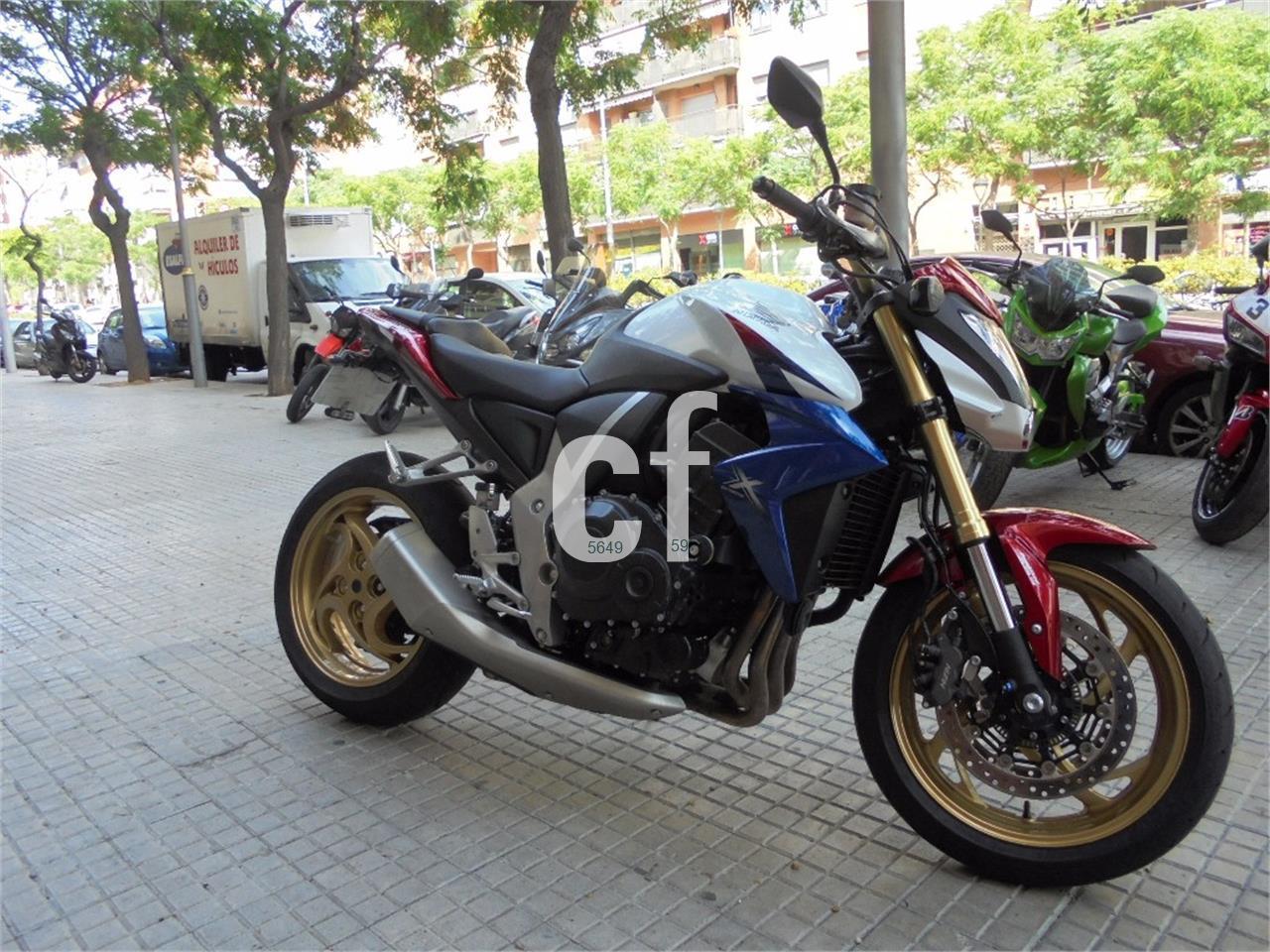 HONDA CB 1000R ABS Tricolor Mat Cynos Gris 3 De Venta En Tarragona