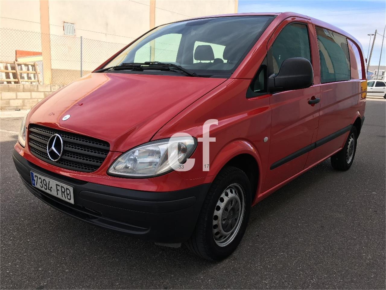 Used mercedes benz vito cars spain for Mercedes benz espana