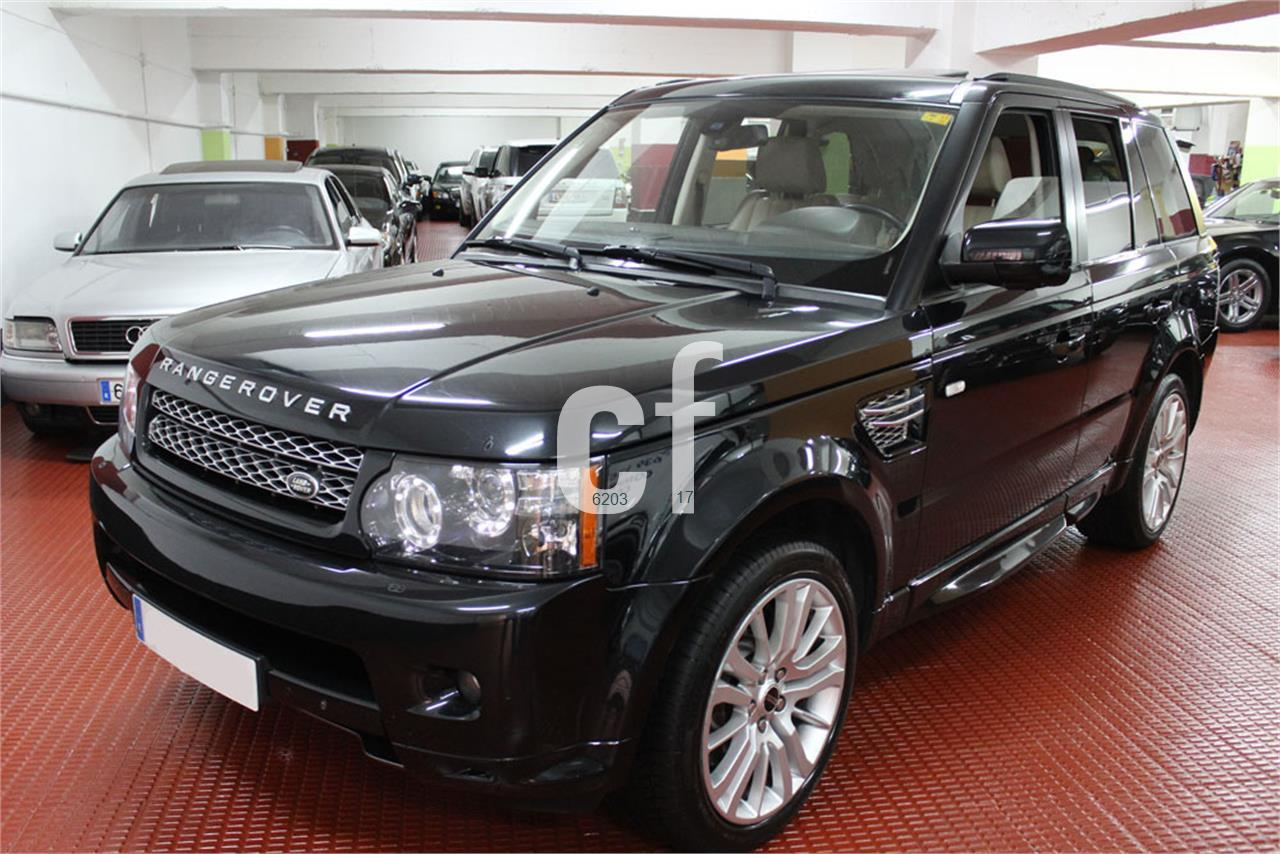 voitures land rover range rover sport occasion espagne. Black Bedroom Furniture Sets. Home Design Ideas
