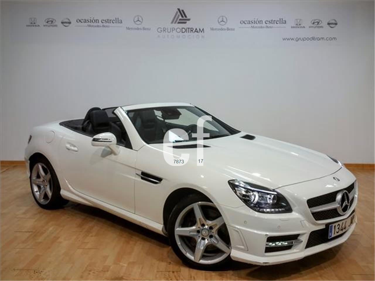 used mercedes benz slk class cars spain. Black Bedroom Furniture Sets. Home Design Ideas