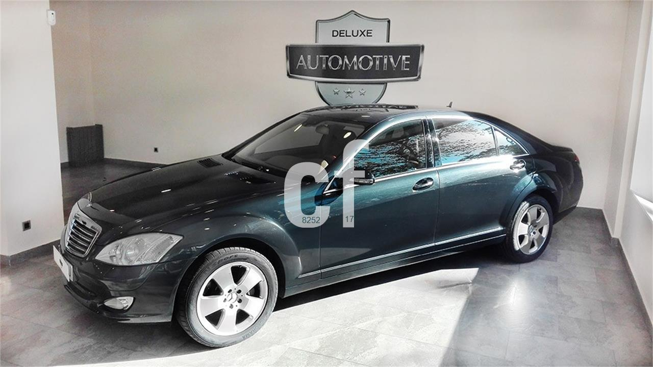 Used mercedes benz s class cars spain for Mercedes benz espana