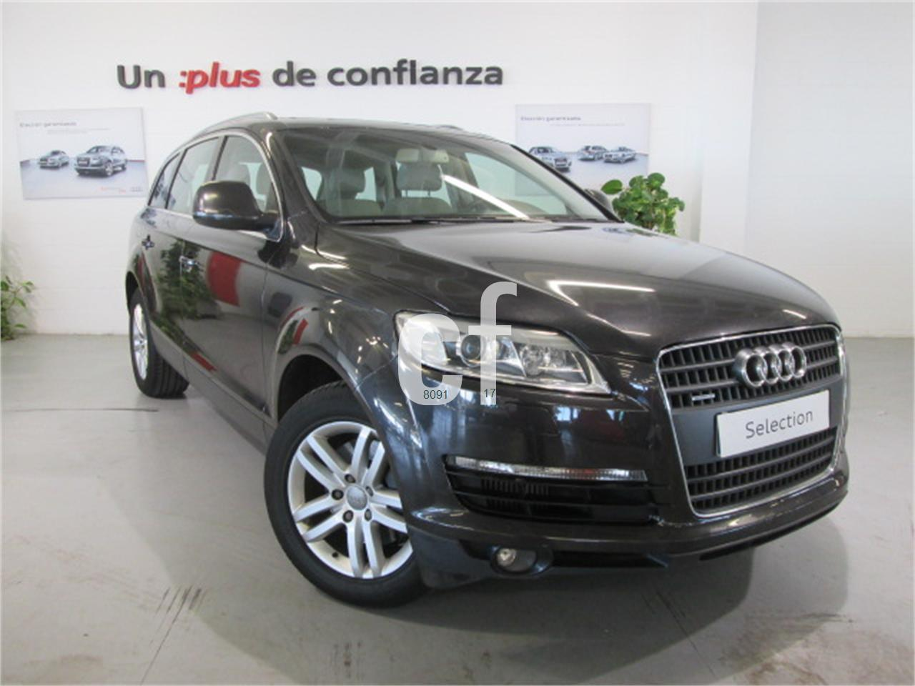 voitures audi q7 occasion c diz espagne. Black Bedroom Furniture Sets. Home Design Ideas