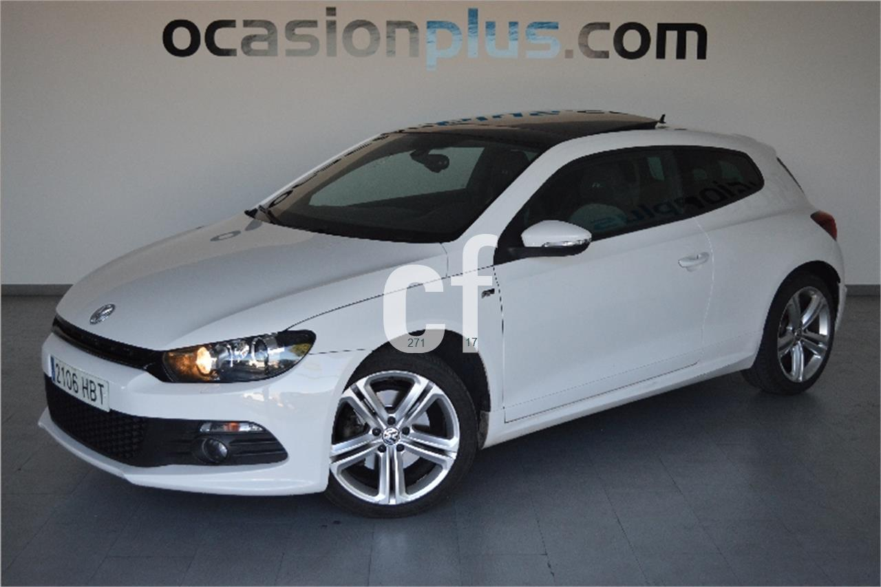 voitures volkswagen scirocco 1 4 tsi occasion madrid espagne. Black Bedroom Furniture Sets. Home Design Ideas