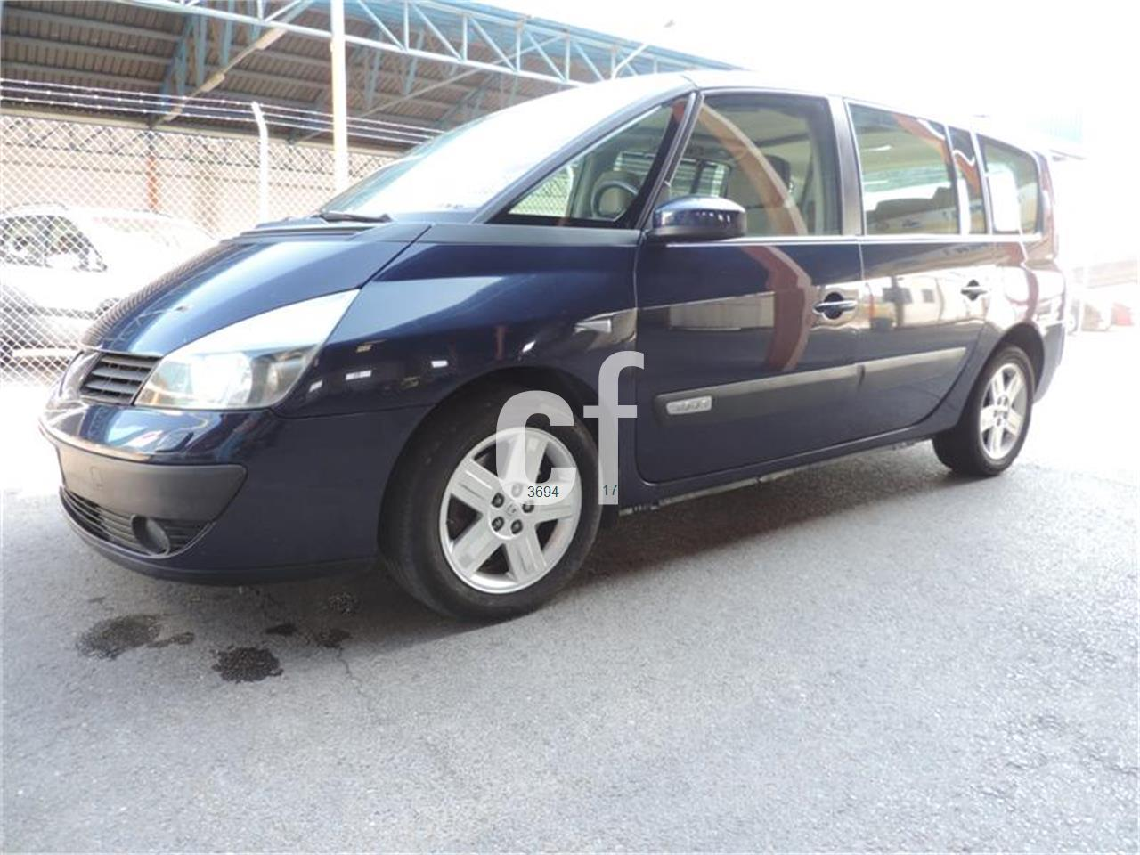 used renault grand espace cars spain. Black Bedroom Furniture Sets. Home Design Ideas