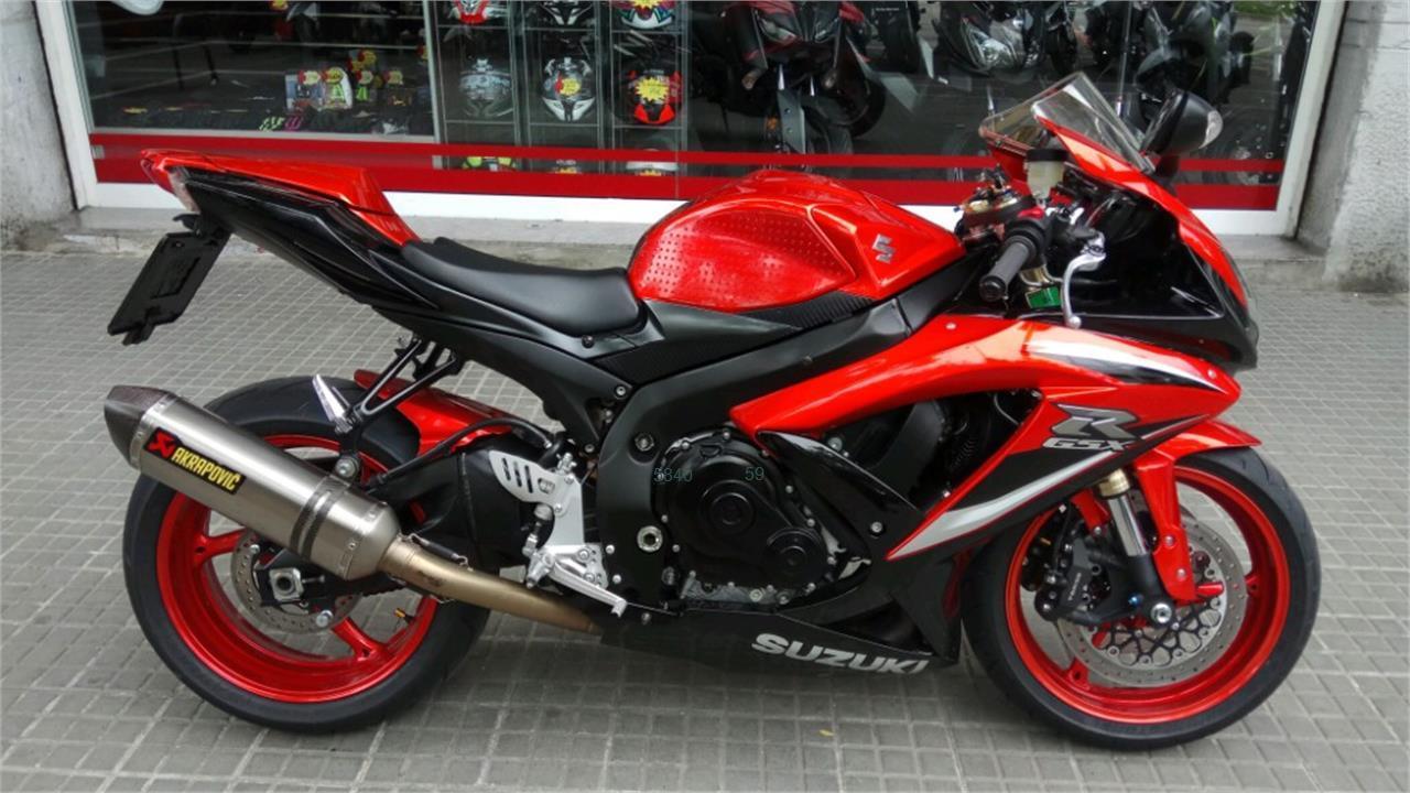 SUZUKI GSX R600 de venta