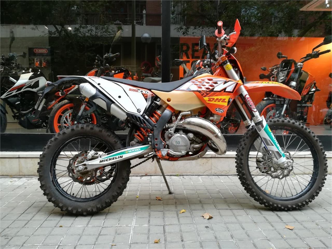 sitio oficial última venta gran descuento Motos, ktm exc 125 de segunda mano en Barcelona