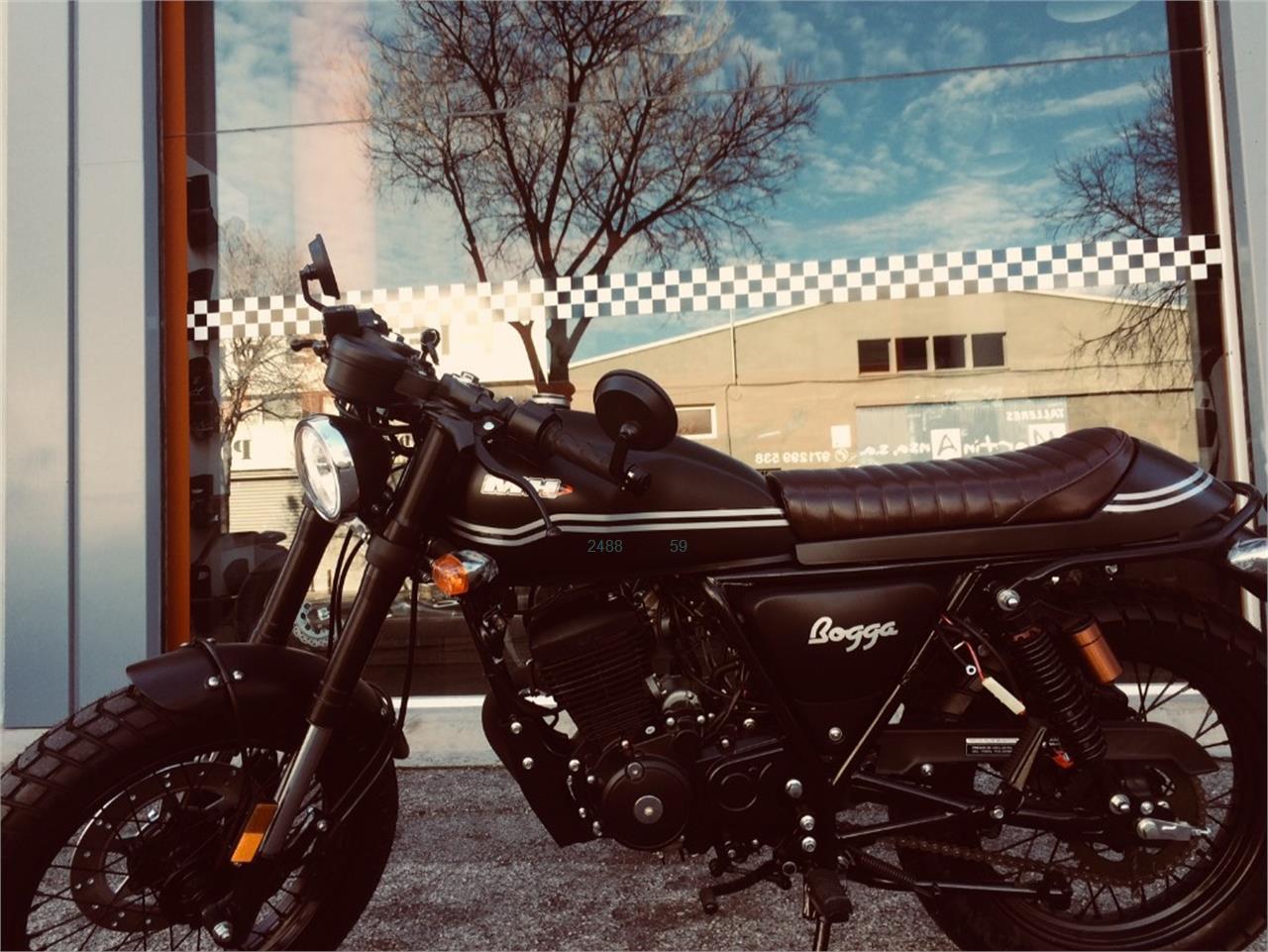 MOTOR HISPANIA STREET 125 AC