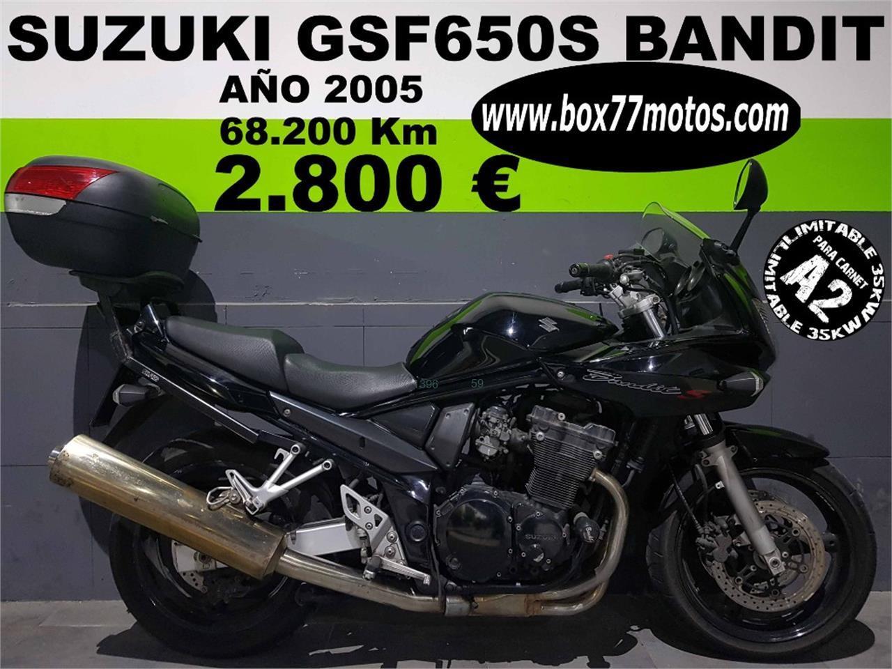SUZUKI GSF BANDIT 650