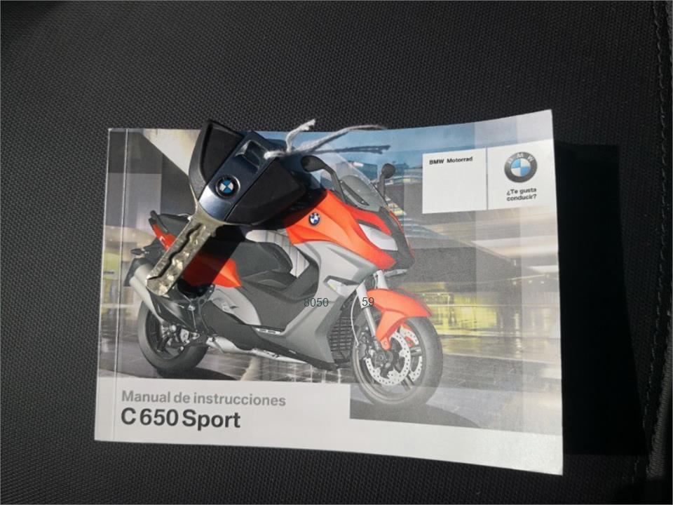 BMW C 650 Sport_2 de venta en Madrid
