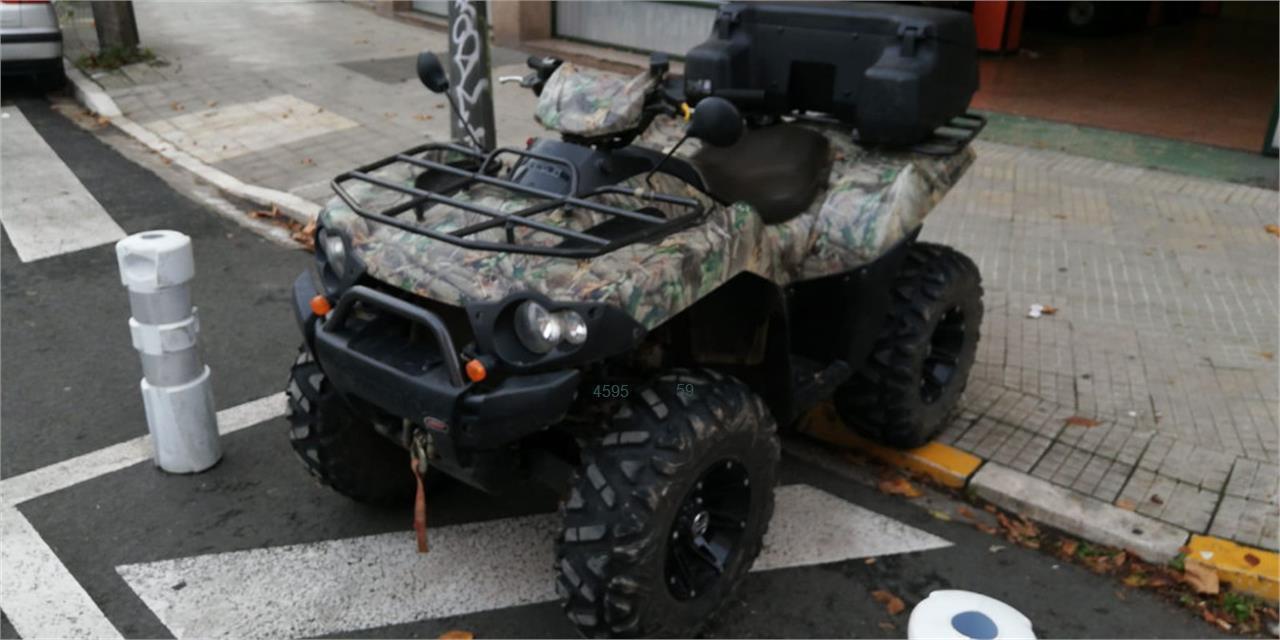 KAWASAKI BRUTE FORCE 750 de venta