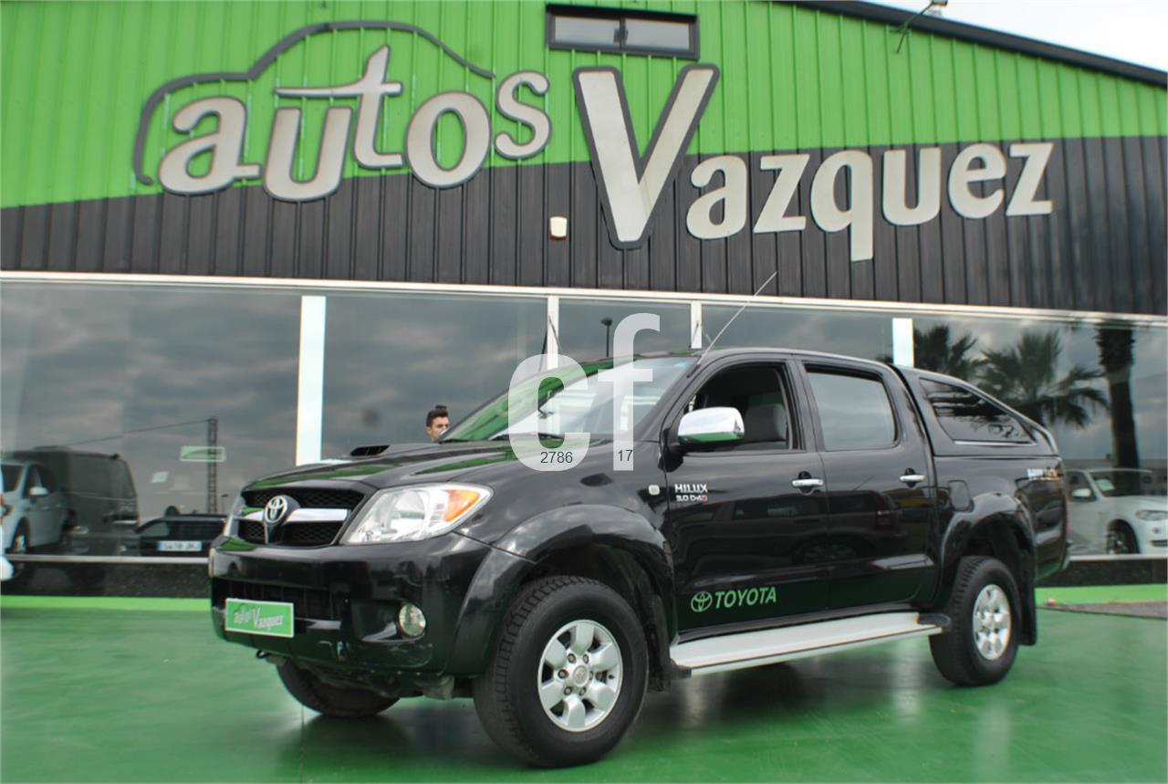 voitures toyota hilux occasion espagne. Black Bedroom Furniture Sets. Home Design Ideas