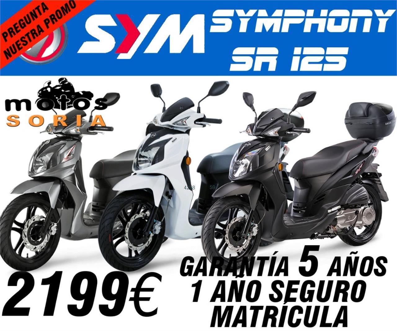 SYM Symphony 125 SR de venta