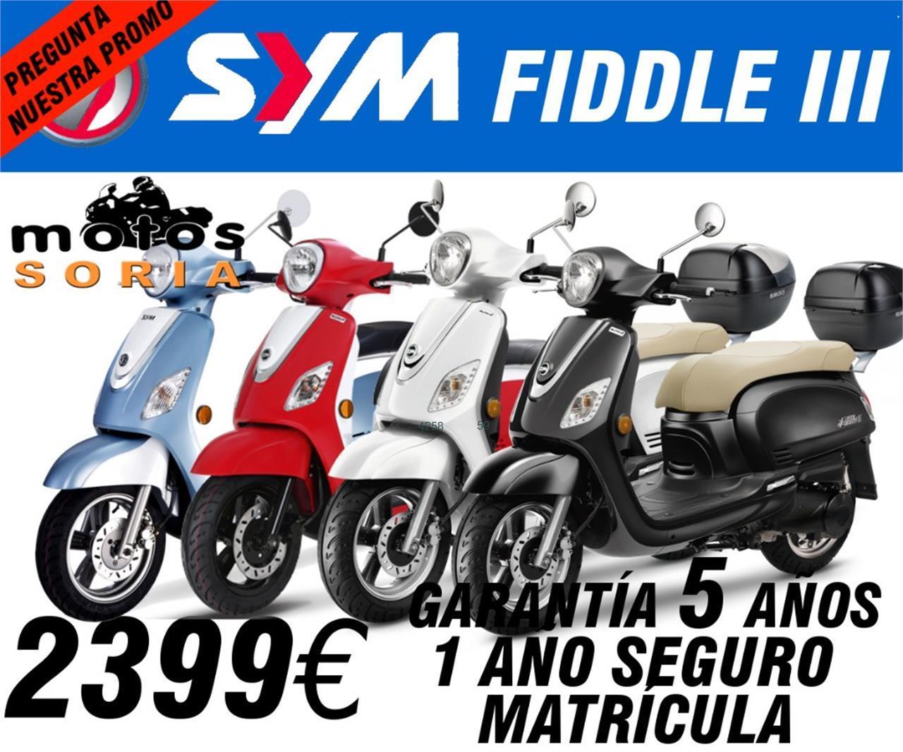 SYM Fiddle III 125 de venta