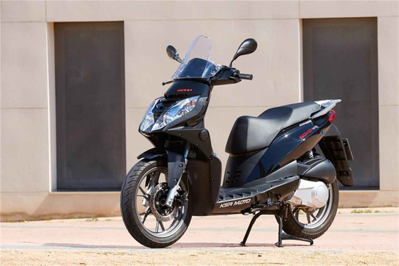 KSR MOTO SOHO 125_3 de venta en Barcelona