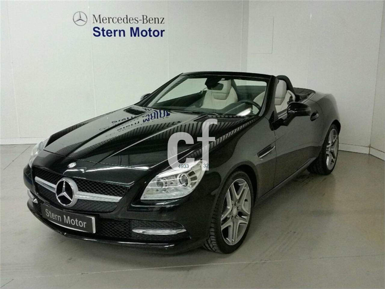 Mercedes benz clase slk de segunda mano del 2013 7000 km for Mercedes benz 7000